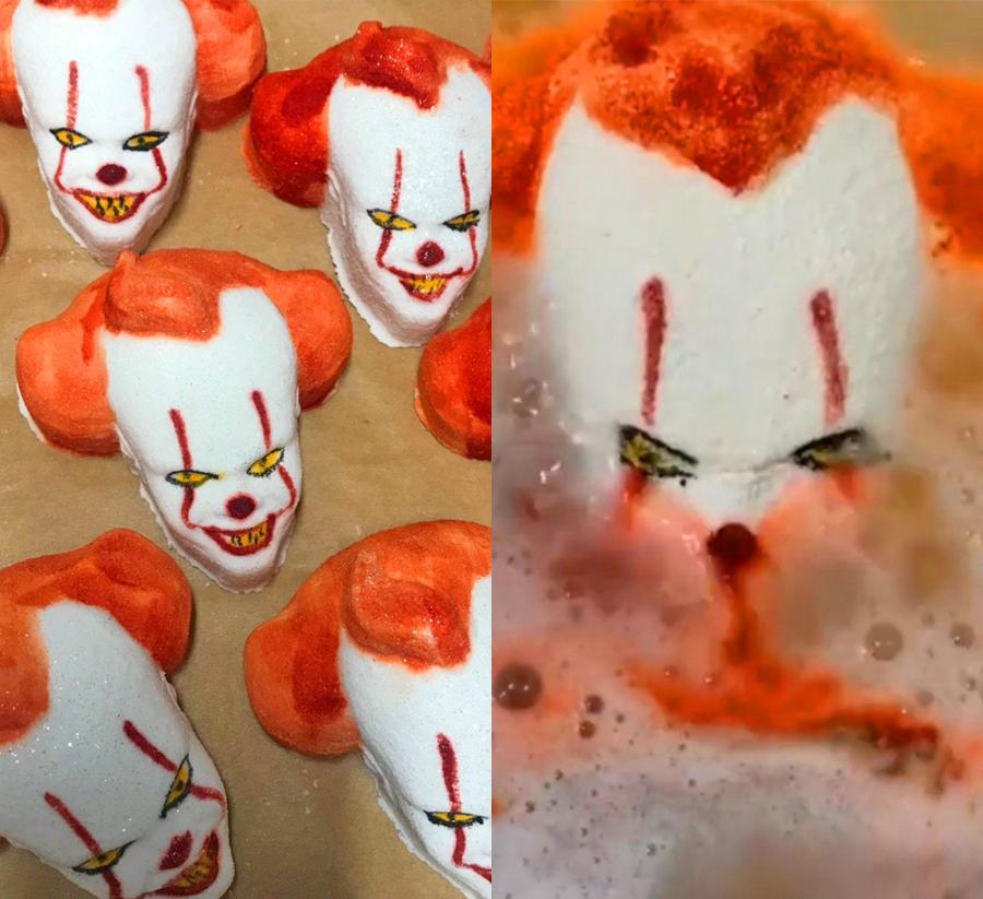 This Pennywise Clown Bath Bomb Is The Creepiest Way To Take A Bath