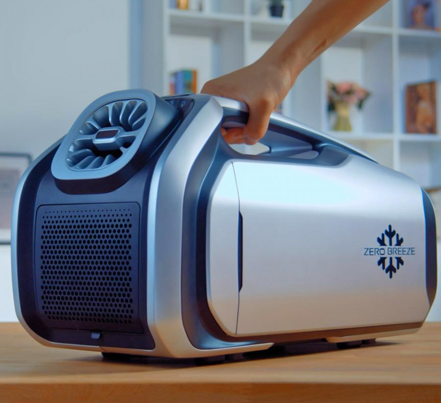 This Portable Battery Powered Air Conditioner Is Perfect