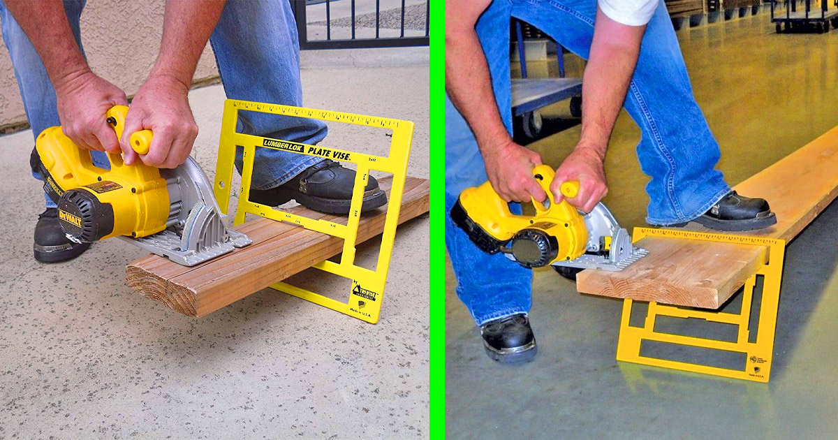 This Portable Sawhorse Makes Cutting Lumber Super Easy While Away From Your Shop