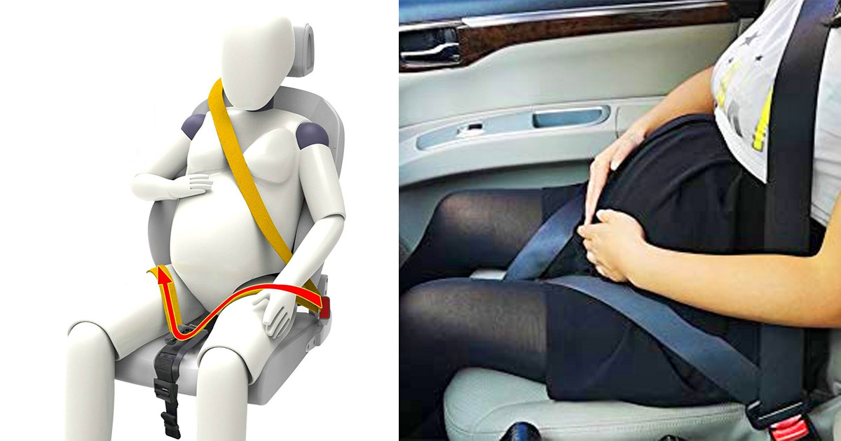 This Pregnancy Car Seat Belt Protects Your Fetus In a Car Crash