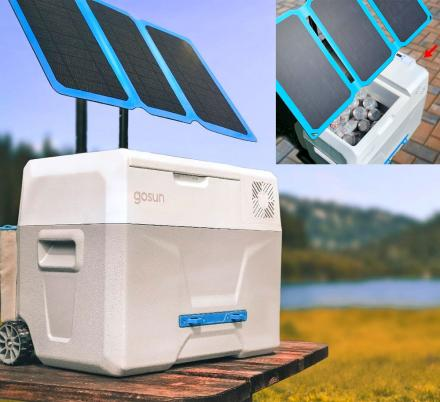 This Solar Powered Cooler/Fridge Requires No Ice