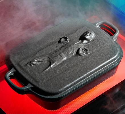 This Star Wars Cookware Collection Features a Han Solo In Carbonite Roaster