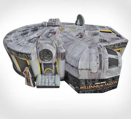 This Star Wars Millennium Falcon Bounce House Lets You Jump To Light Speed