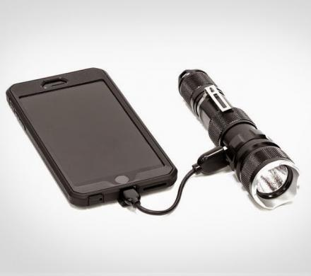 This Tactical Flashlight Will Also Charge Your Phone