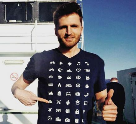 This Travel Shirt Uses Icons To Help You Communicate In Any Language