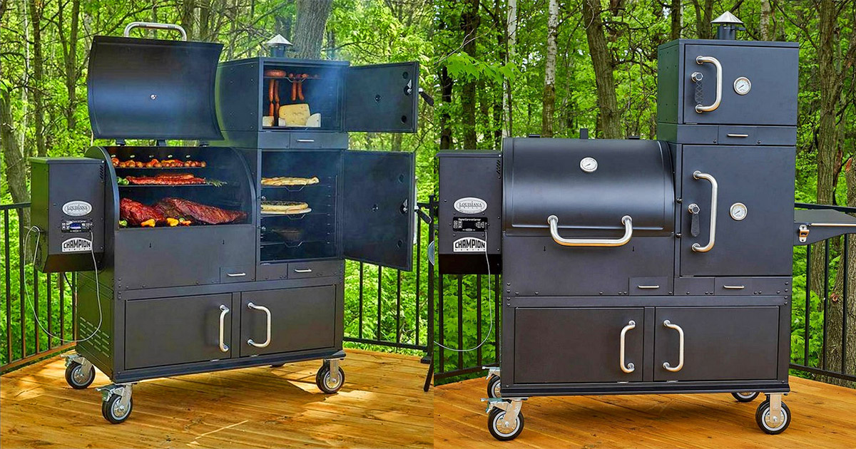 This Ultimate Grill Features 23 8 Square Feet Of Cooking Area