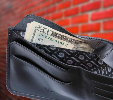This Wallet Has A Secret Compartment For Storing Secret Cash