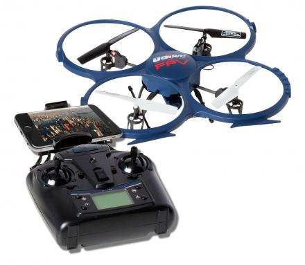 This Wi-Fi FPV Drone Gives You a Live Camera Feed To Your Smart Phone