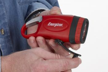 Rechargeable Crank Flashlight