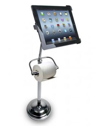 iPad Toilet Paper Holder
