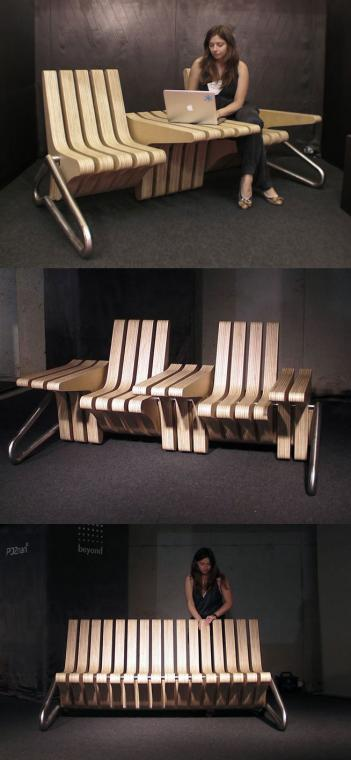 Adjustable Coffee Bench