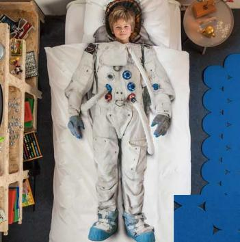Astronaut Bed Sheets