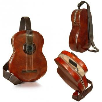 Guitar Shaped Backpack