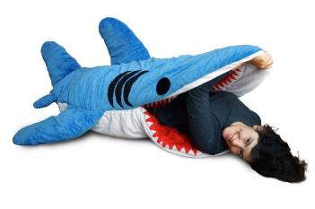 Shark Bite Adult Sleeping Bag