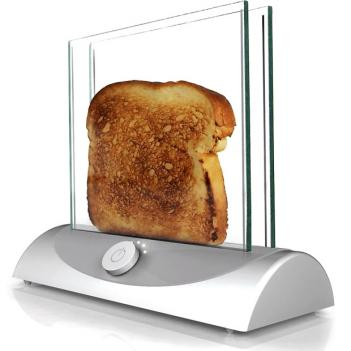 Glass Transparent Toaster