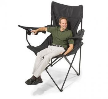 This Giant Folding Chair Has 6 Cup Holders