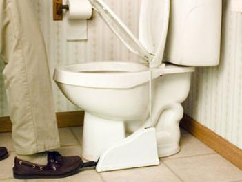 Toilet Seat Lifter Pedal