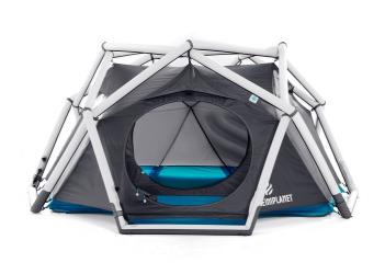 Inflatable Geodesic Tent - The Cave