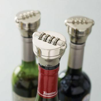 Combo Lock For Wine/Liquor Bottles