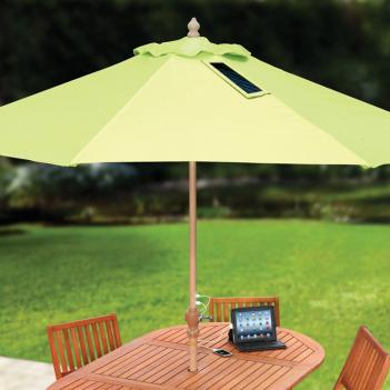 Umbrella Solar Charging Station
