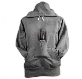 Beer Holder Hoodie Sweatshirt