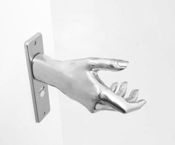 Hand Shaped Door Knob