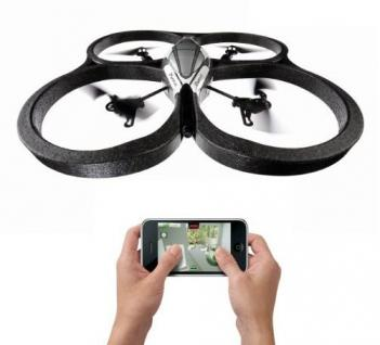 Smartphone Controlled Quadricopter Drone