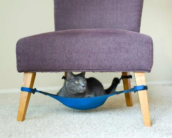 under chair cat hammock chair cat hammock  rh   odditymall