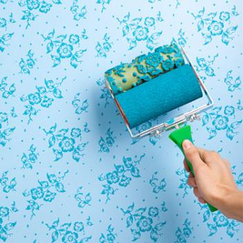 Wallpaper Paint Roller patterned paint roller
