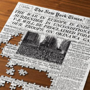 Select a Date Newspaper Puzzle