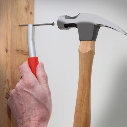 Thumb Saver Holds Your Nails While You Hammer