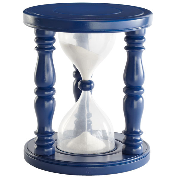 time out sand timer stool 2