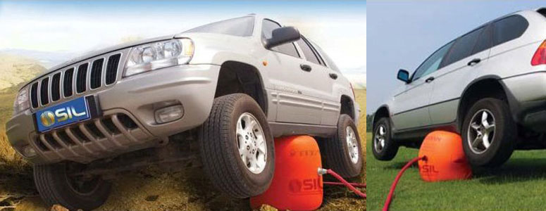 Exhaust Car Jack -  Car Jack Uses Your Cars Own Exhaust To Lift Your Car