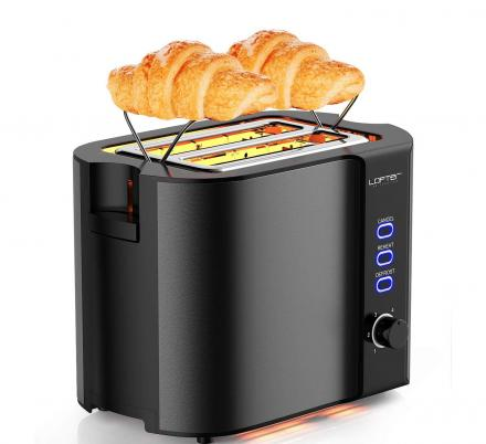 You Can Now Get a Toaster With a Warming Rack For Warming Up Your Pastries Before Work