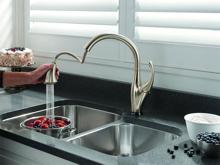 Elegant Delta Addison Touch2O Kitchen Faucet Delta Addison Touch2O Kitchen Faucet  ...