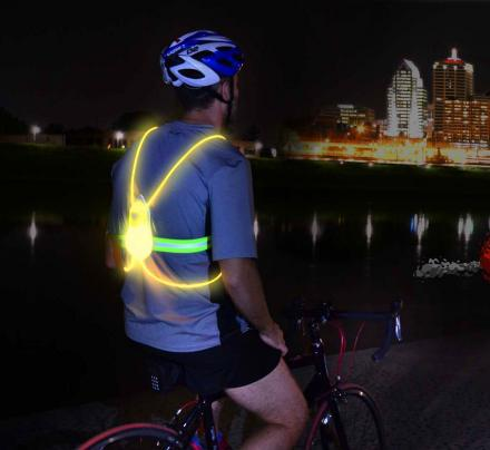 Tracer360: An Illuminated Vest For Running/Cycling At Night