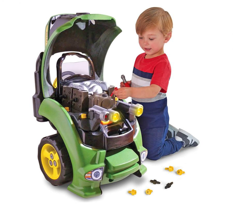 Tractor Engine Repair Set Lets Your Kid Work On Their Own