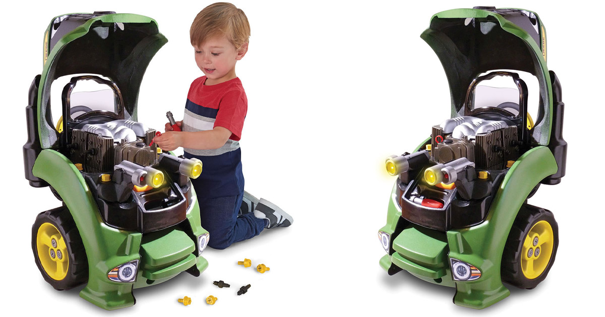 This Tractor Engine Repair Set Lets Your Kid Work On Their Own Tractor Just Like Daddy