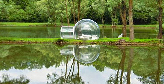 Bubble Tent - Transparent Bubble Tent Lets You Fall Asleep Under The Stars