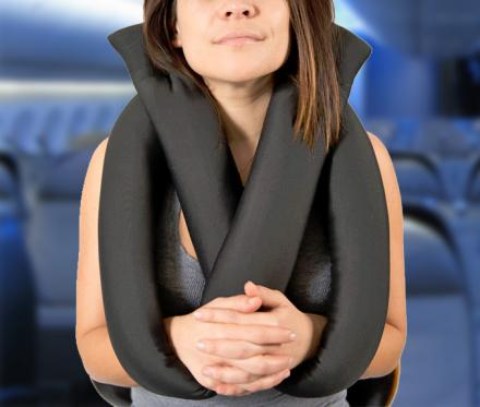 Travel Pretzel Pillow
