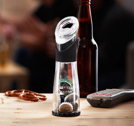 Trudeau: Bottle Opener That Catches The Cap