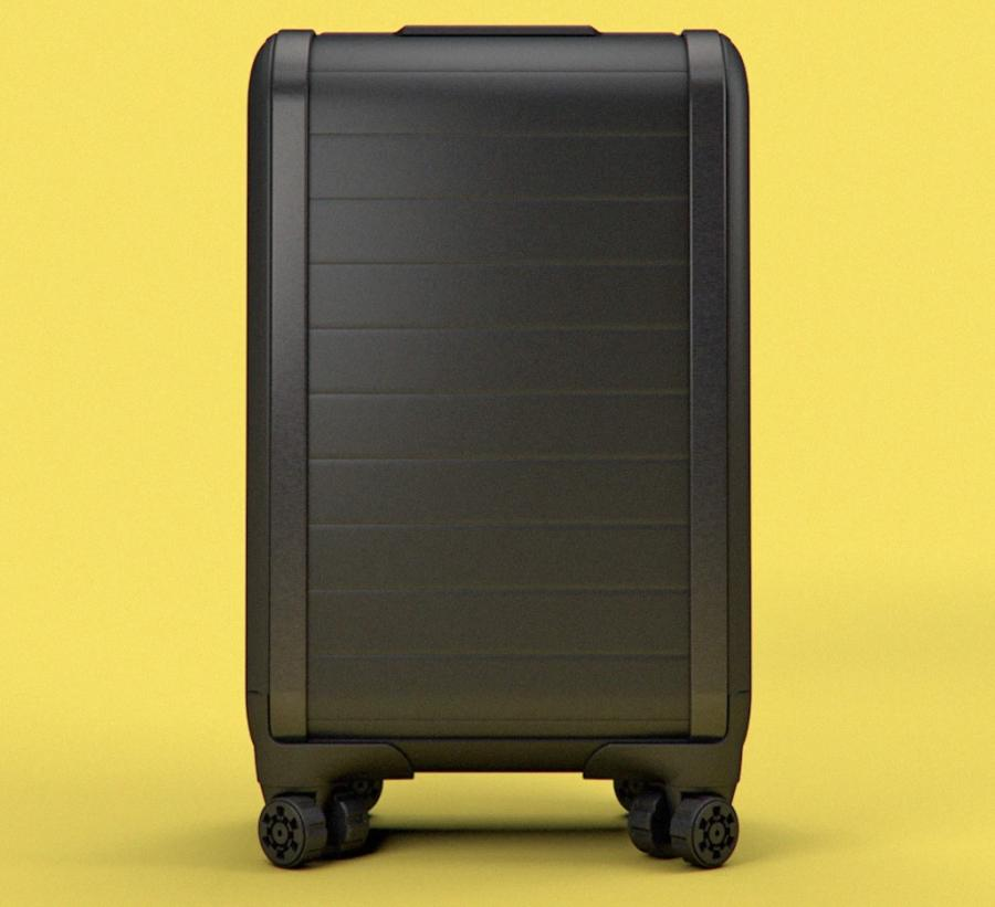 Trunkster Smart Luggage With A Roll Top Door