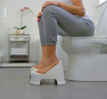 Turbo Fusion: Squatting Toilet Stool Elevates Your Feet For a Better Pooping Experience