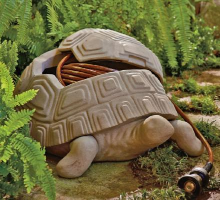 This Turtle Is the Coolest Way To Hide Your Garden Hose