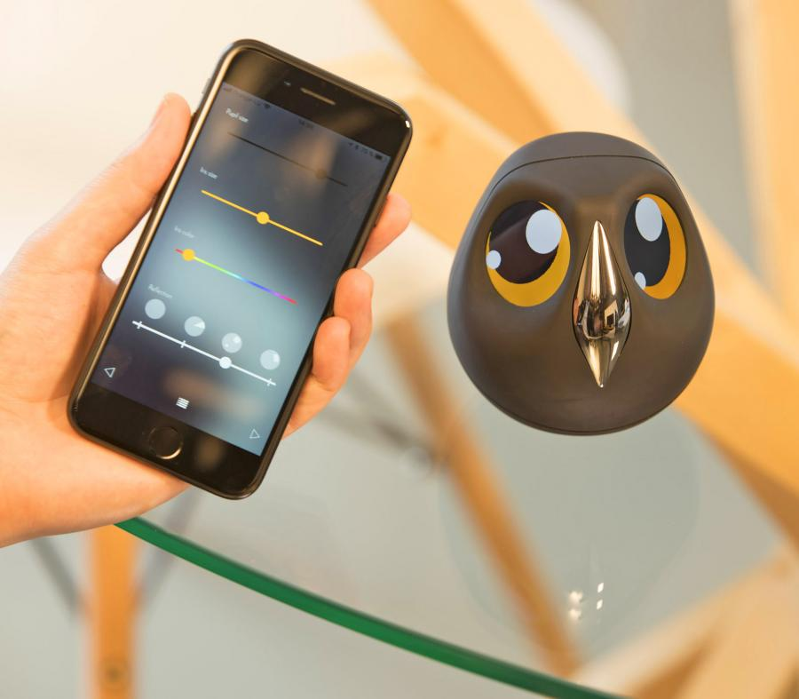 Ulo An Owl Shaped Security Camera