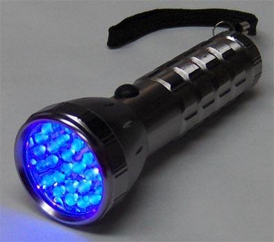 Ulraviolet Led Blacklight Flashlight