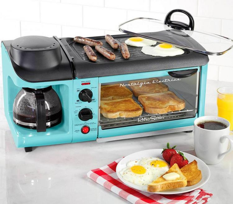 Nostalgia 3-in-1 Breakfast Station