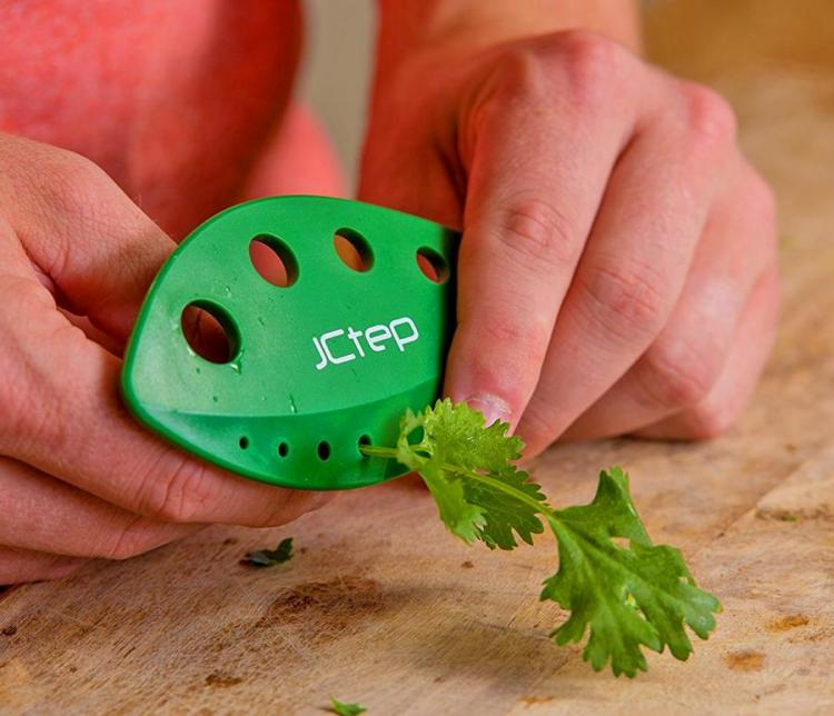 This Herb Stripper Easily Removes Herbs From Stems