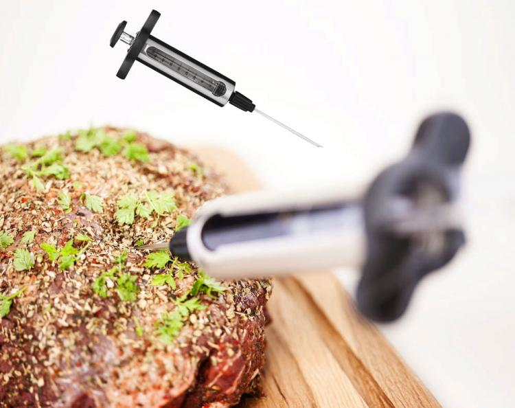 BONUS: BBQ Marinade Syringe That Lets You Inject Delicious Flavoring