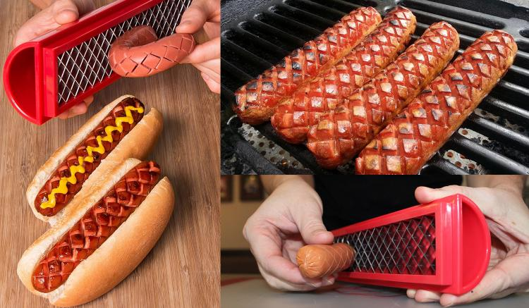 SlotDog: Cuts Slots Into Your Hot Dogs For Perfect Dogs Every-time